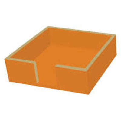 Paperproducts Design PPD Beverage Napkin Caddy - Orange