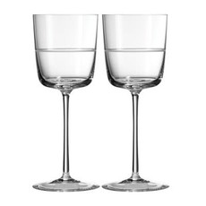 Wedgwood Wedgewood Vera Wang Bande Wine Glass - Pair