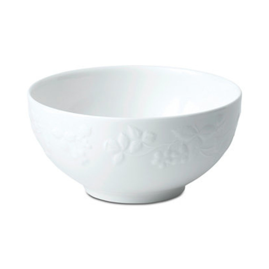 Wedgwood Wedgewood Wild Strawberry White Cereal Bowl