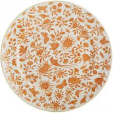 Mottahedeh Mottahedeh Sacred Bird & Butterfly Dinner Plate