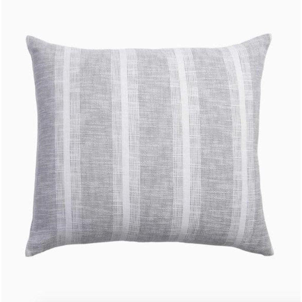 John Robshaw Textiles John Robshaw Niccan Grey King Euro Sham (Insert sold separately)