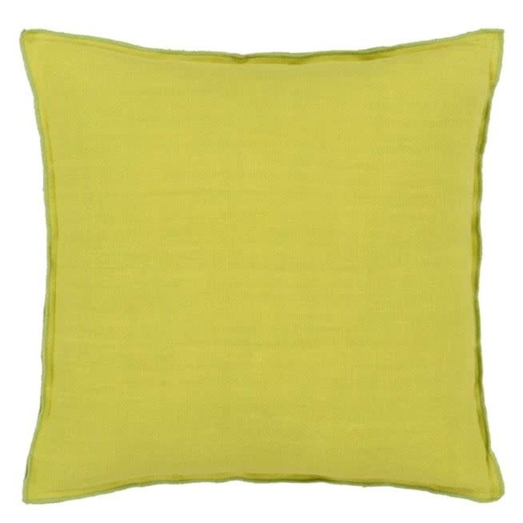 Designers Guild Designers Guild Brera Lino Decorative Pillow Lime