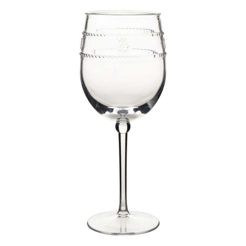 Juliska Juliska Wine Glass Acrylic Isabella