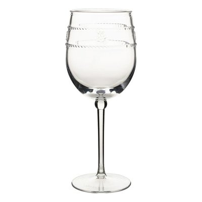 Juliska Juliska Wine Glass Acrylic Isabella