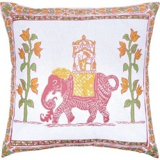 John Robshaw Textiles John Robshaw Alepa 22x22 Outdoor Pillow- Insert Sold Separately
