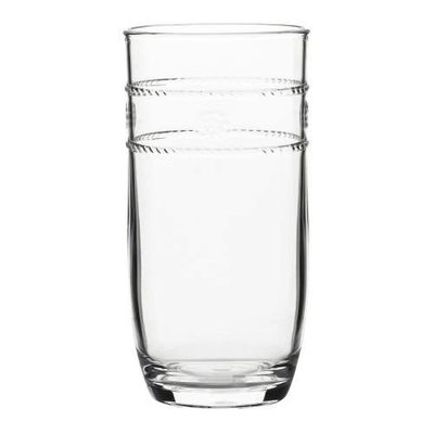 "Juliska Juliska Large Beverage Isabella Acrylic Clear 6""H"