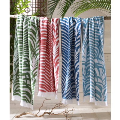 Matouk Zebra Palm Beach Towel