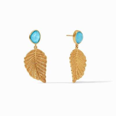 Julie Vos Aspen Leaf Earrings