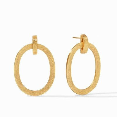 Julie Vos Julie Vos Aspen Doorknocker Earring