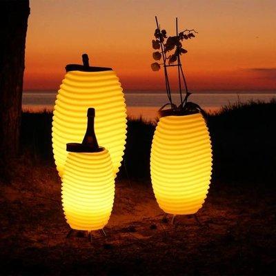 Bluetooth Speaker & Wine Cooler Lamp -L