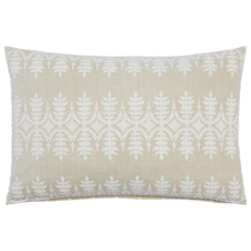 John Robshaw Textiles JOHN ROBSHAW SAMA 12X18 DECORATIVE PILLOW, SAND - INSERT NOT INCLUDED
