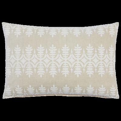 John Robshaw Textiles JOHN ROBSHAW SAMA 12X18 DECORATIVE PILLOW, SAND - INSERT NOT INCLUDED