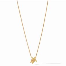 Julie Vos Julie Vos Turtle Delicate Necklace Gold