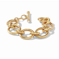 Julie Vos Julie Vos Catalina Hammered Link Bracelet