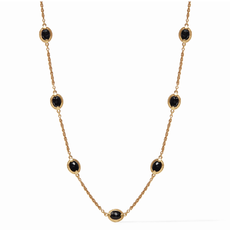 Julie Vos Julie Vos Calypso Demi Delicate Necklace - Black