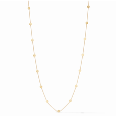 Julie Vos Julie Vos Poppy Station Necklace- Pearl