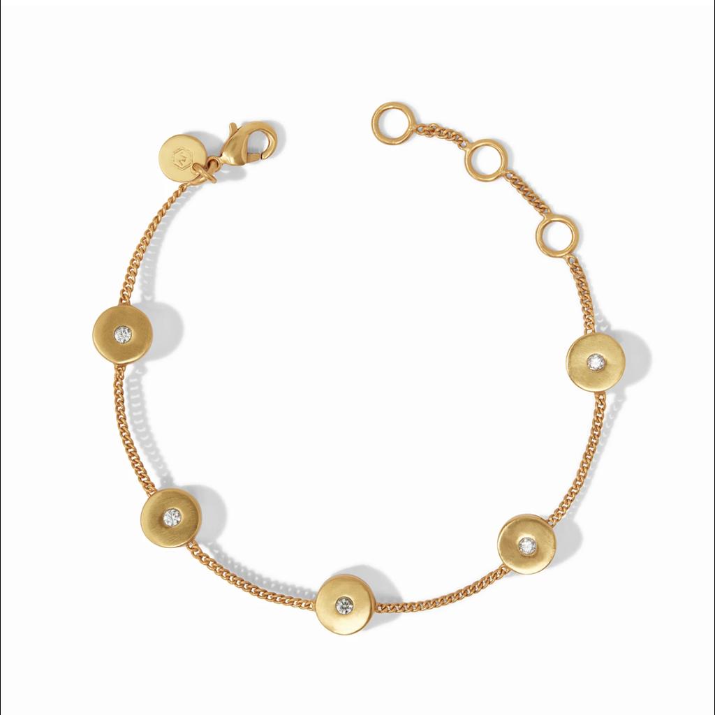 Julie Vos Julie Vos Poppy Delicate Bracelet - CZ