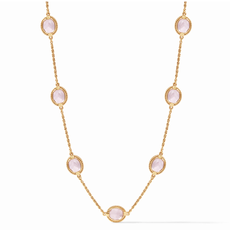 Julie Vos Julie Vos Calypso Delicate Necklace - Rose