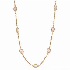 Julie Vos Julie Vos Calypso Demi Delicate Necklace - Rose