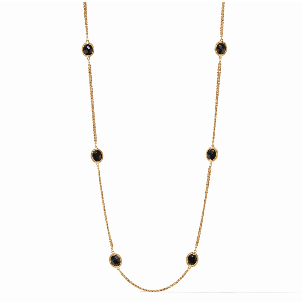 Julie Vos Julie Vos Calypso Station Necklace - Black