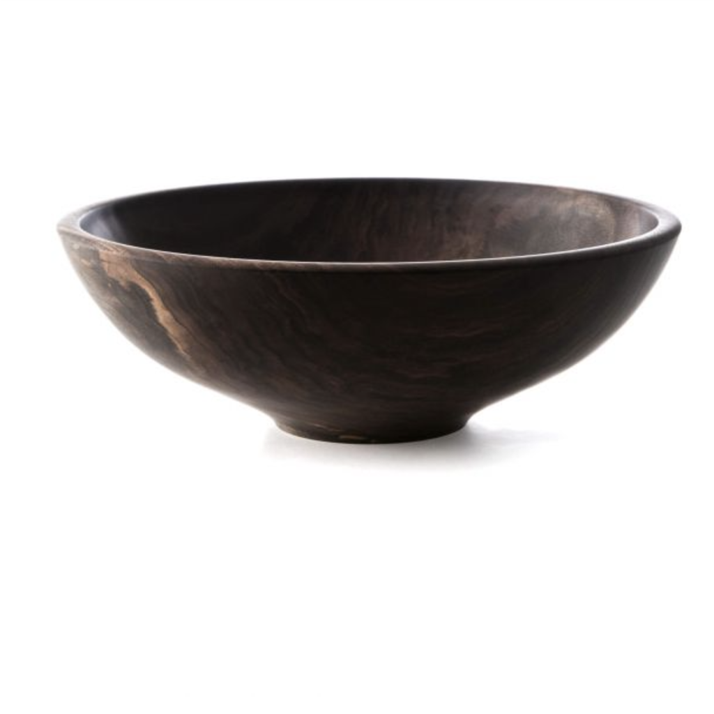 "Andrew Pearce Andrew Pearce 17"" Champlain Bowl-Black Walnut"