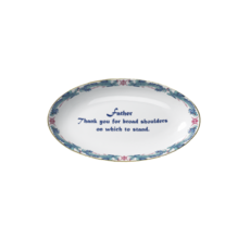 "Mottahedeh Mottahedeh ""Father"" Verse Tray"