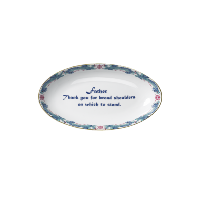 """Mottahedeh Mottahedeh """"Father"""" Verse Tray"""