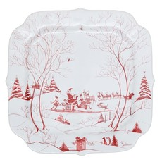Juliska Juliska Winter Frolic Santa's Cookie Tray