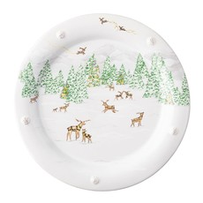Juliska Juliska B&T North Pole Dinner Plate