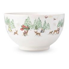 Juliska Juliska B&T North Pole Cereal / Ice Cream Bowl
