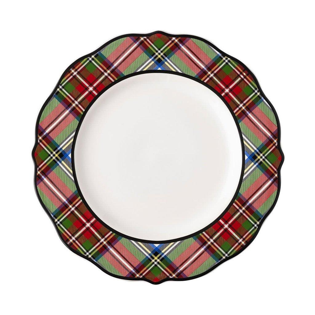 Juliska Juliska Stewart Tartan Dinner Plate