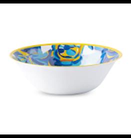 """Juliska Juliska 20"""" Melamine Serving Bowl - Blue Rose"""