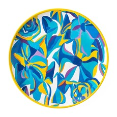 Juliska Juliska Melamine Dinner Plate - Blue Rose