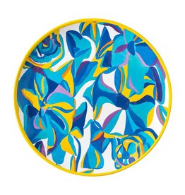 Juliska Juliska Melamine Dinner Plate - Blue Rose