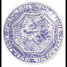 Gien France Gien Oiseau Bleu Dinner Plate