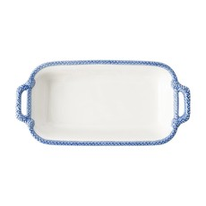 Juliska Juliska Le Panier Shallow Baker- White/ Delft