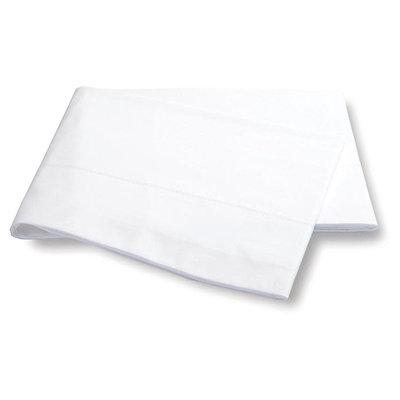 Matouk Matouk White Luca Hemstitch Flat Sheet King