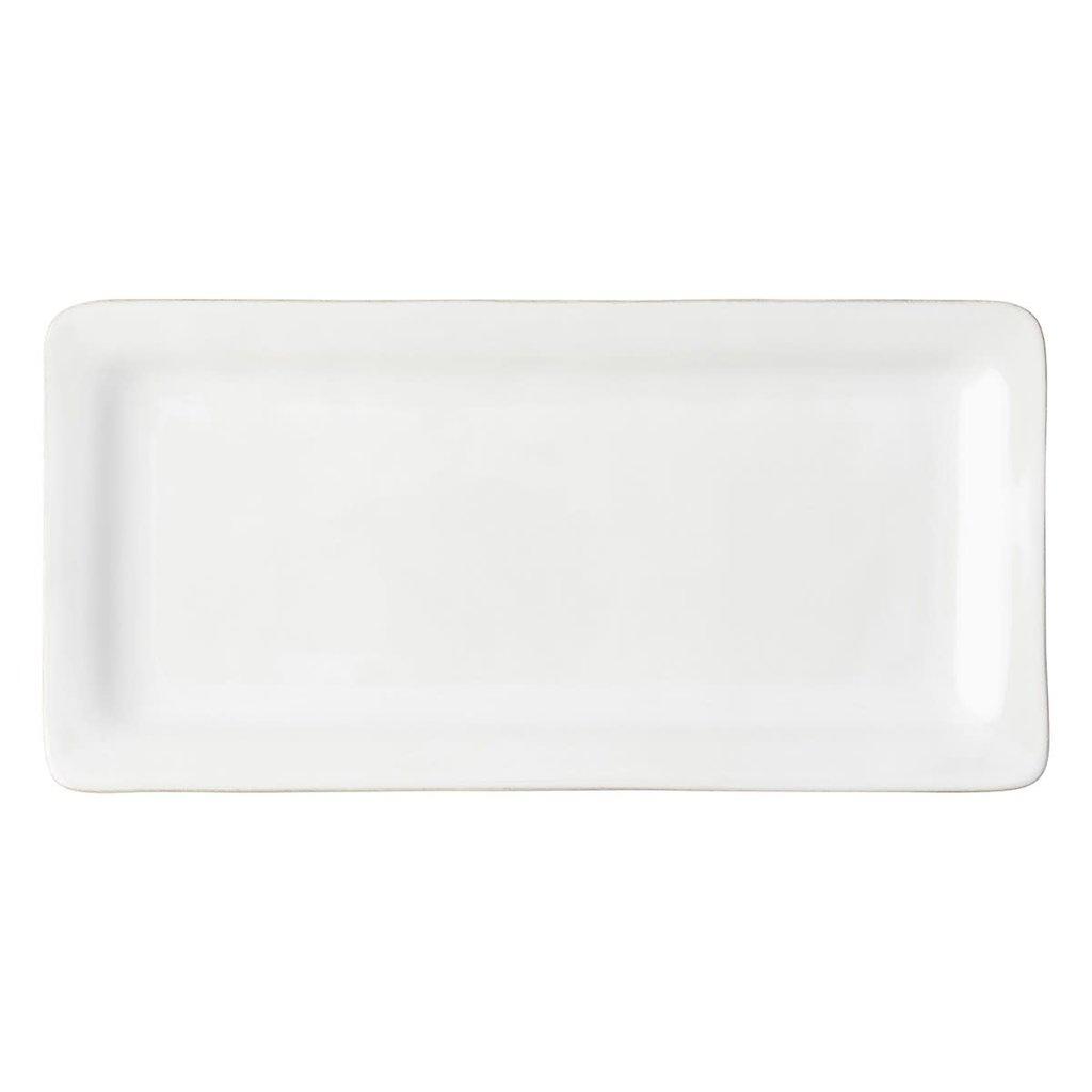 Juliska Juliska Puro Whitewash Rectangular Appetizer Platter