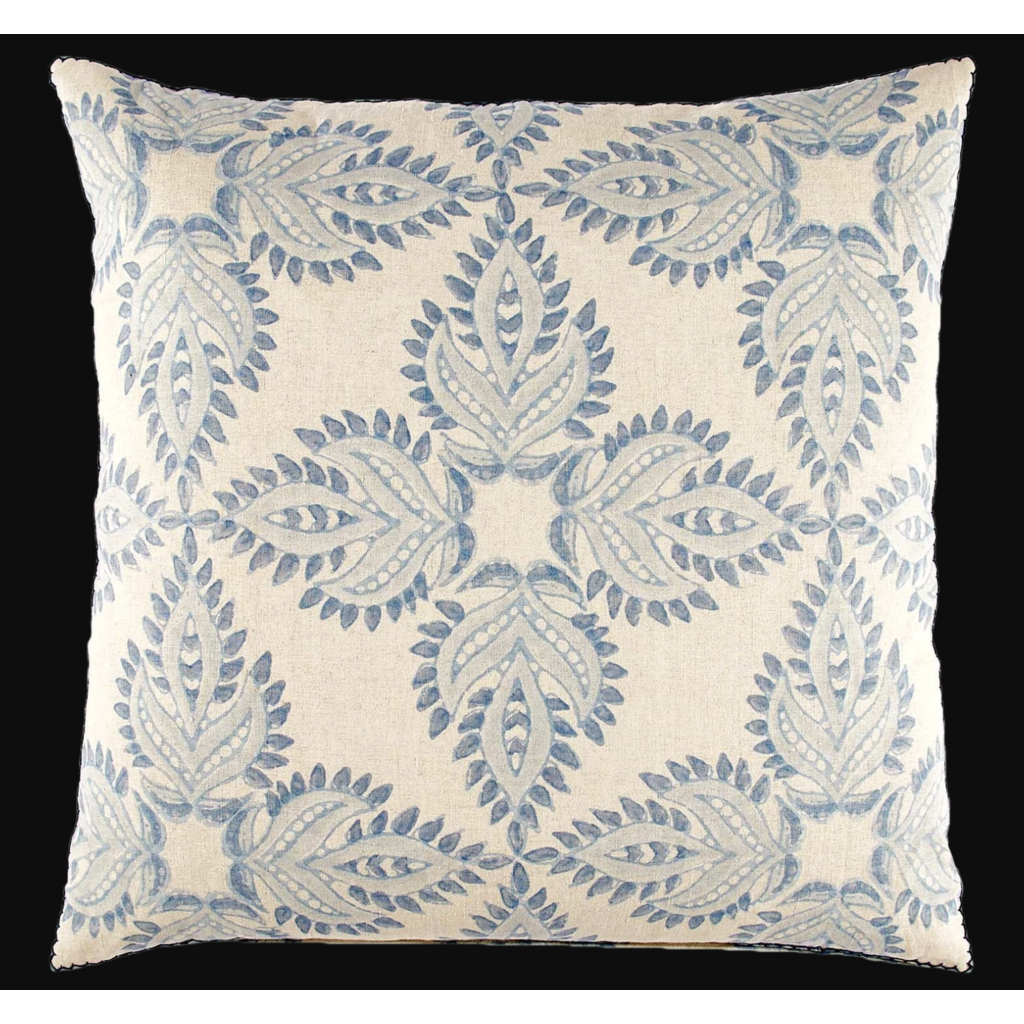John Robshaw Textiles John Robshaw Verdin Lapis Euro Sham - Insert Sold Separately