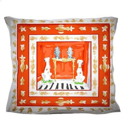 Dana Gibson Dana Gibson Red Dog Pillow