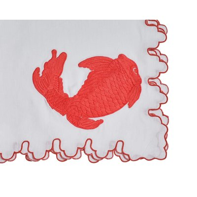 Haute Home Haute Home March Koi Napkin (set of 6)