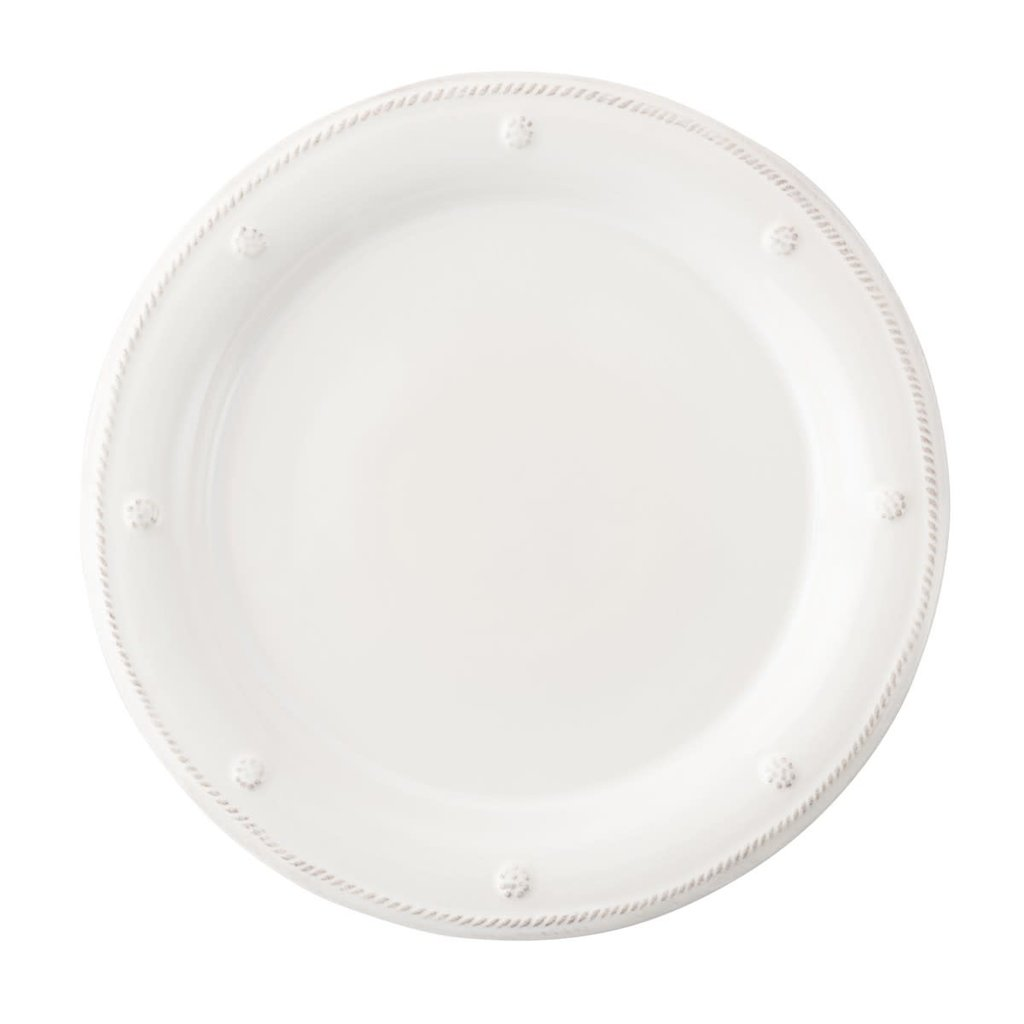 "Juliska Juliska Round Dessert/Salad Plate B&T White 9""W"