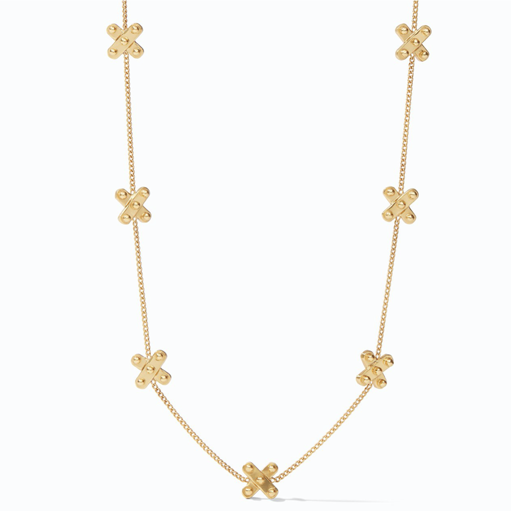Julie Vos Julie Vos SoHo Delicate Station Necklace Gold