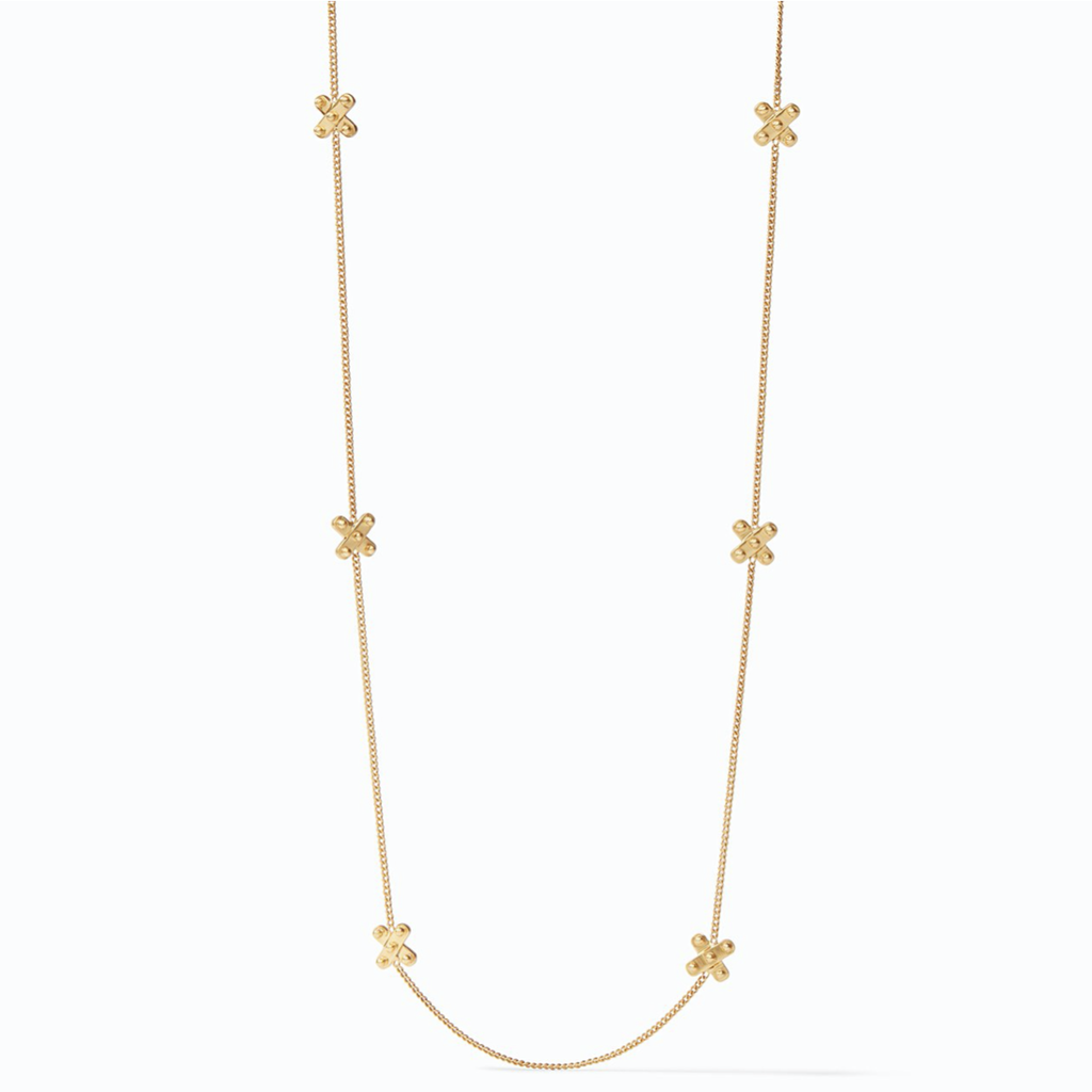 Julie Vos Julie Vos SoHo Station Necklace Gold