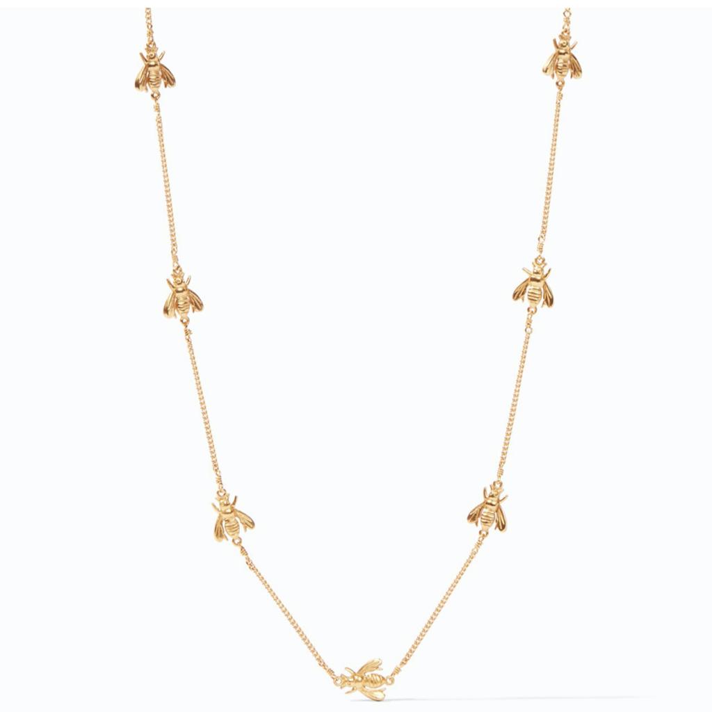 Julie Vos Julie Vos Bee Delicate Necklace Gold