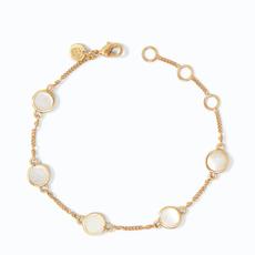 Julie Vos Julie Vos Valencia Delicate Bracelet Gold Mother of Pearl