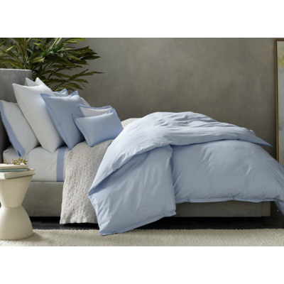 Matouk Luca Satin Stitch Duvet Covers