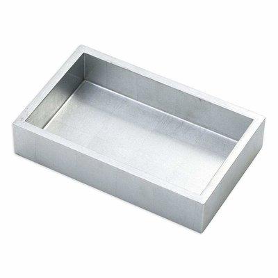 Caspari Caspari Guest Towel Holder - Lacquer Silver