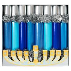 Caspari Caspari Crackers - Hanukkah Candles, 10 Inch/8in