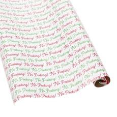 Caspari Caspari Wrapping Paper - No Peeking - 8 Ft Roll